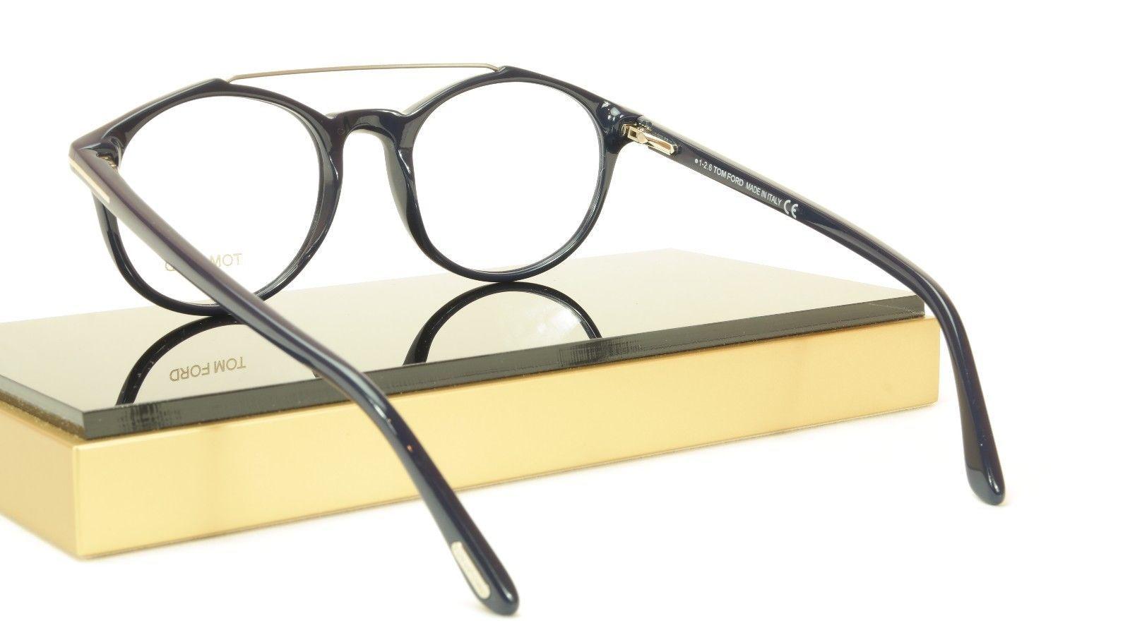 Tom Ford Authentic Eyeglasses Frame TF5455 090 Dark Navy Blue Italy 52-20-145 image 9
