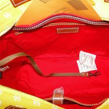 Dooney & Bourke Gretta Yellow Leisure Shopper Tote image 9