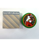 Vintage 1986 Avon Superstar Football Scented Candle in Green Collectible... - $11.99