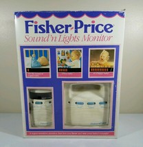 1990s Fisher Price Baby Monitor Sound 'N Lights 1550 Transmitter Receive... - $15.15
