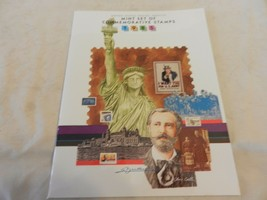 1985 USPS Mint Set of Commemorative Stamps Book Only no stamps - $19.79