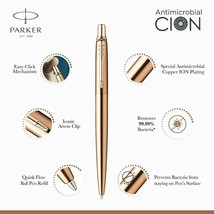 Parker Jotter Anti Microbial Copper Ion Ball Point Pen CION Coated - $12.41