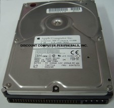 "IBM DCAS-32160 73H7674 5 instock 2GB 3.5""50PIN SCSI Drive Tested Free US... - $99.00"