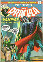 The Tomb of Dracula #17 VG- Blade is Bitten by Dracula GENE COLAN & Marv... - $11.88
