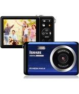 "Compact Digital Camera Rechargeable 20MP Kids Camera 2.8"" LCD 8X Digital... - $152.18"