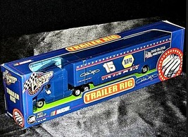 Blue Michele Wally  #15 Die-Cast Collector Trailer Rig Winner's Circle AA19-NC80