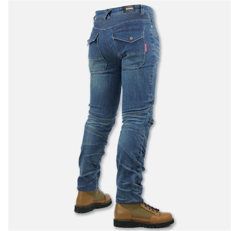 Men Fashion Professional Motorcycle Pants Casual Trousers Jeans Riding Pants image 2