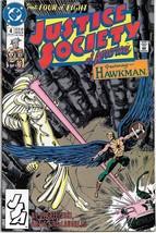 Justice Society of America Comic Book Mini-Series #4 DC 1991 VFN/NEAR MI... - $2.75