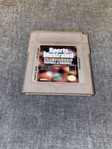 Sports Illustrated Championship Football & Baseball Nintendo Game Boy Game Cart - $7.99