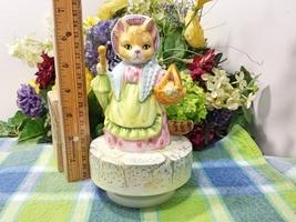 Beatrix Potter Mrs Ribby Musical Music box - $21.75