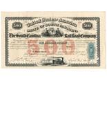1866 South Carolina Railroad Co. $500 Bond, R54c - £92.36 GBP