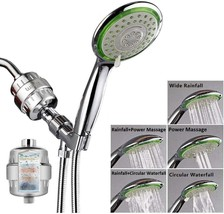 Filtered Shower Head Combo, Includes 15 Stage Shower Filter Head, High P... - $83.99