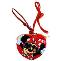 Tokyo Disney Resort Sunglasses Goods Minnie Mouse Ticket Holder with Neck Strap - $57.42