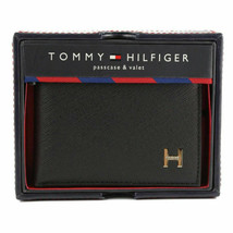 Tommy Hilfiger Men's Leather Credit Card Id Passcase Wallet Billfold 31TL22X019 image 2