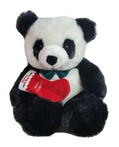 """Holiday Panda Bear JCPenney Holding Merry Christmas Stocking 25"""" - $48.99"""