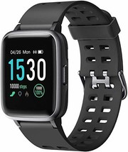 """Letsfit Smart Watch, Activity Fitness Tracker with 1.3"""" Touch Screen, Smartwatch"""