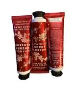 3 Bath & Body Works JAPANESE CHERRY BLOSSOM Shea Butter Hand Creams 1oz x3 - $19.79