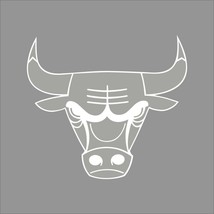 Chicago Bulls #3 NBA Team Logo 1Color Vinyl Decal Sticker Car Window Wall - $5.64+