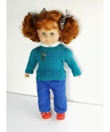 Max Zapf Creation Original Model 21 in Doll 1985 Toddler Red Pigtails Ge... - $125.00