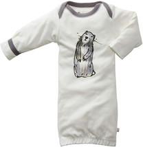Babysoy Organic Jane Goodall Endangered Animal Print Long Sleeve Bundler... - $32.06