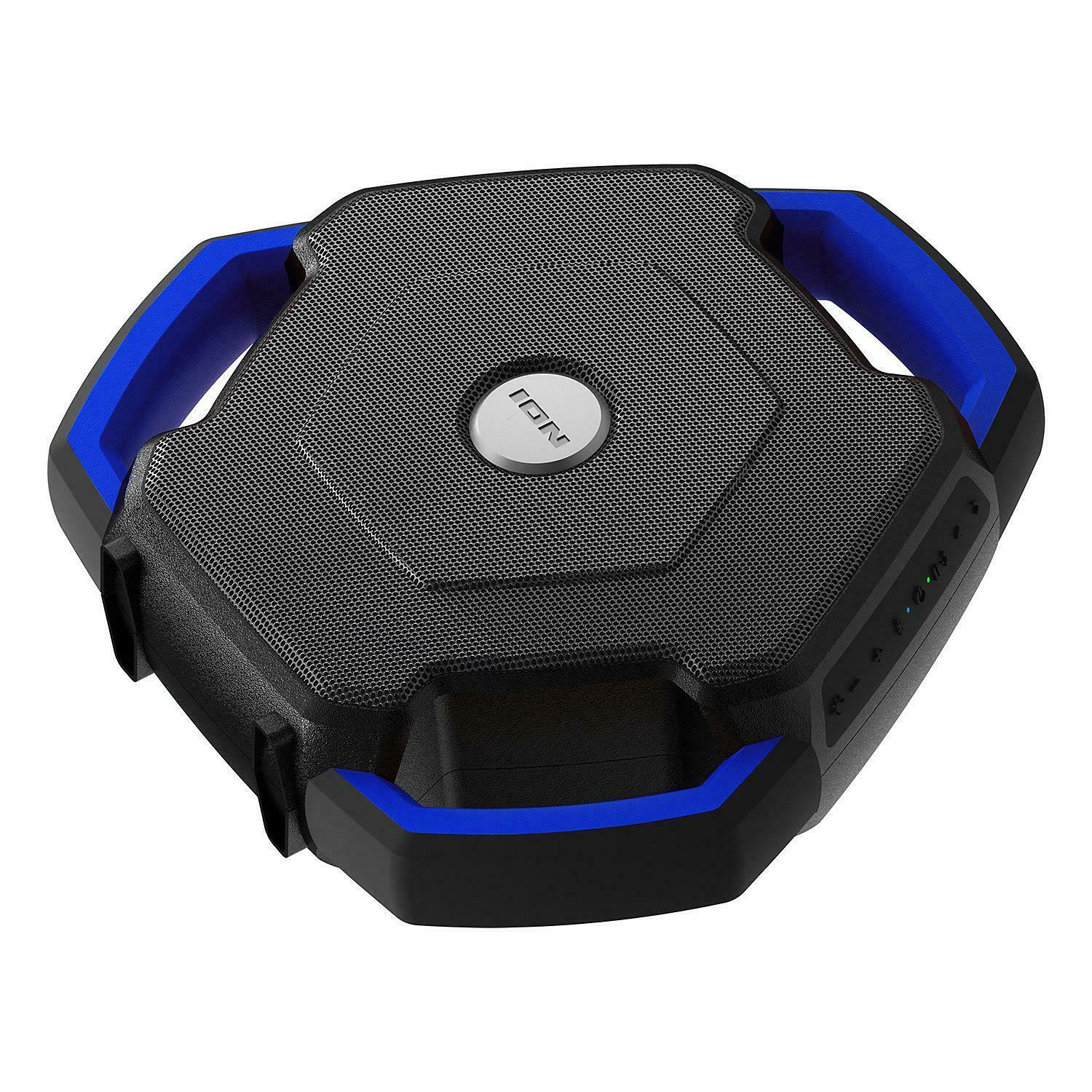 Ion Audio WaveRider Waterproof Bluetooth Wireless Speaker FM Radio Pool Boombox