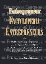 Entrepreneur? Magazine Encyclopedia of Entrepreneurs Hallett, Anthony and Hallet