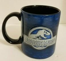 Jurassic World  Universal Studios Large Blue Coffee Mug 20 Oz Thailand ... - $20.37
