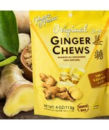 Prince of Peace Ginger Chews Candy Original ( 100% Natural ) 4 oz - $5.45