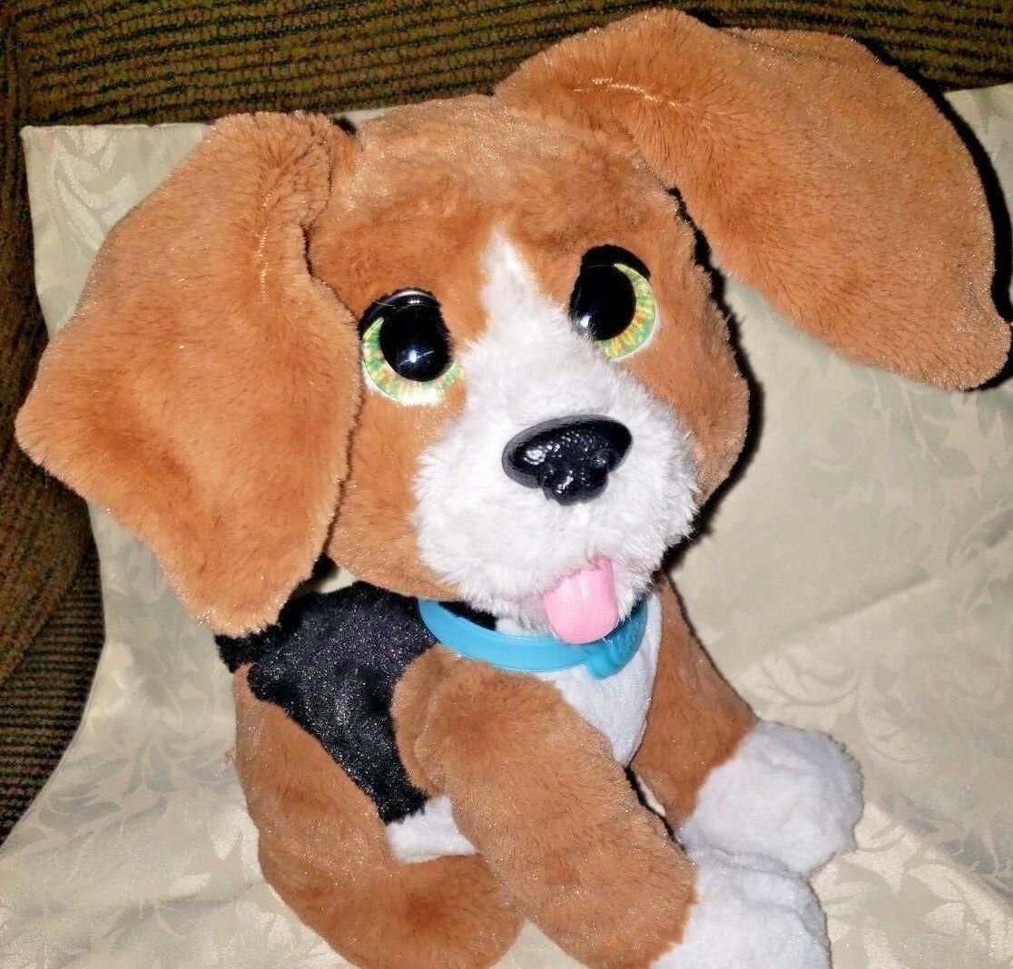 FurReal Friends Chatty Charlie The Barkin' Beagle Interactive Plush Dog Pet - $15.83