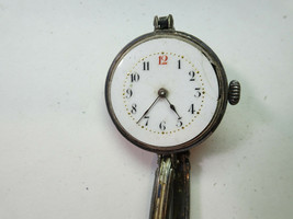 MARGUERITE STERLING SILVER ANTIQUE WATCH FOR RESTORATION REPAIR OR TRENC... - $144.16