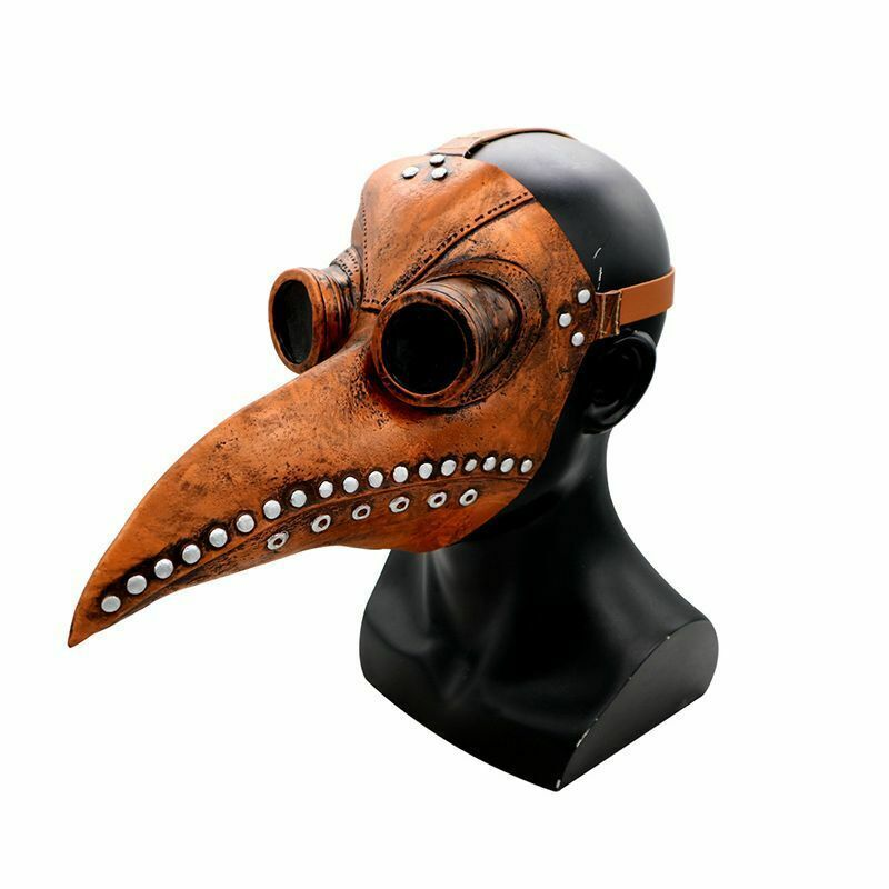 Steampunk Bird Mask Doctor Women Men Plague Punk Cosplay Costume Accessories New