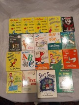 Vintage Childrens Book Lot of 19 Dr. Suess Childs Young Reader - $24.31