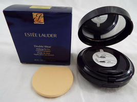 Estee Lauder Double Wear Makeup To Go Liquid Compact in Bone 1W1 .40 Fl ... - $43.16