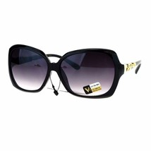 Womens Square Rectangular Frame Sunglasses Classy Elegant Design UV 400 - $10.95