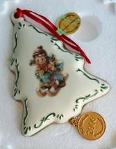"MIB~ M.J. Hummel & Danbury Mint ""2006 Christmas Delivery"" Porcelain Orna... - $16.71"
