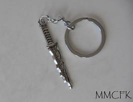 Once Upon A Time Rumpelstiltskin Rumplestiltskin Dagger Keychain Emma Sw... - $8.99