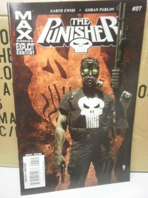 Primary image for E11 MAX COMICS THE PUNISHER- #57 - JULY 2008 - NEW