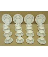 Royal Doulton Waverly English Bone China Place Setting Set of 4 H.4963 - $175.75