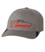 Camaro Embroidery on a new grey ball cap - $20.00