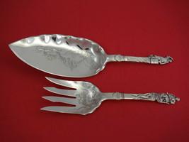 Nuremberg by Gorham Sterling Silver Fish Serving Set Brite-Cut 2pc - $1,309.00