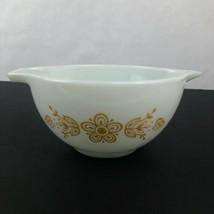 Pyrex Butterfly Gold Cinderella 1 1/2 QT Quart Mixing Casserole Bowl #44... - $9.89