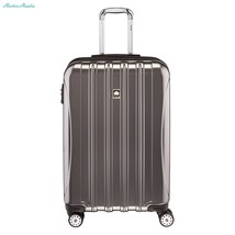 Delsey Luggage Helium Aero 25 Inch Expandable Spinner Trolley, Titanium,... - $181.64