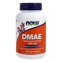 NOW Foods DMAE 250 mg., 100 Vegetarian Capsules - $11.99