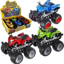 Friction Powered ATV 4 Wheeler Toy Vehicle w/ Display Box (Pack of 6X) - $24.70