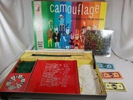 VINTAGE 1961 Milton Bradley Camouflage Rare Retro Board Game fun family ... - $29.70