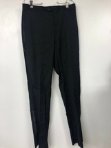 Calvin Klein Tuxedo Pants, Brand New 100% Wool Natural Stretch, Black, 3... - $48.23