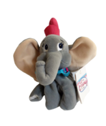 "Disney Store Dumbo Plush Mini 8"" Beanbag Elephant Stuffed Toy Vintage Pi... - $21.73"