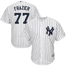 Men's New York Yankees Clint Frazier #77 White Polyester Cool Base Playe... - €46,70 EUR
