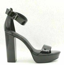 Simply Vera Vera Wang Hong Kong Women Ankle Strap Heels Size US 7 Black - $38.57