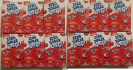 Zero Sugar Cherry Kool-Aid On the Go Singles lot of 12 Boxes - $29.99